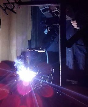 Course Image Perform Shielded Metal Arc Welding (SMAW) for Basic Purposes